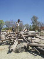 Augsburg: Spielplatz auf dem Sheridan-Gelände