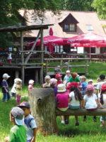Eisbrunn: Spielplatz an der Waldschänke