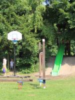 Augsburg: Spielplatz am TVA