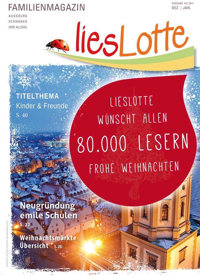 Titelbild liesLotte Ausgabe 49 - Weihnachtsgruss