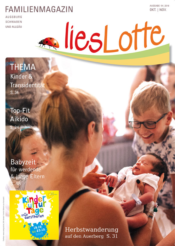 Titelbild liesLotte Ausgabe 54 - Okt. / Nov. 2018