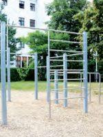 Augsburg: Eltern-Kind-Fit in der Calisthenics-Anlage