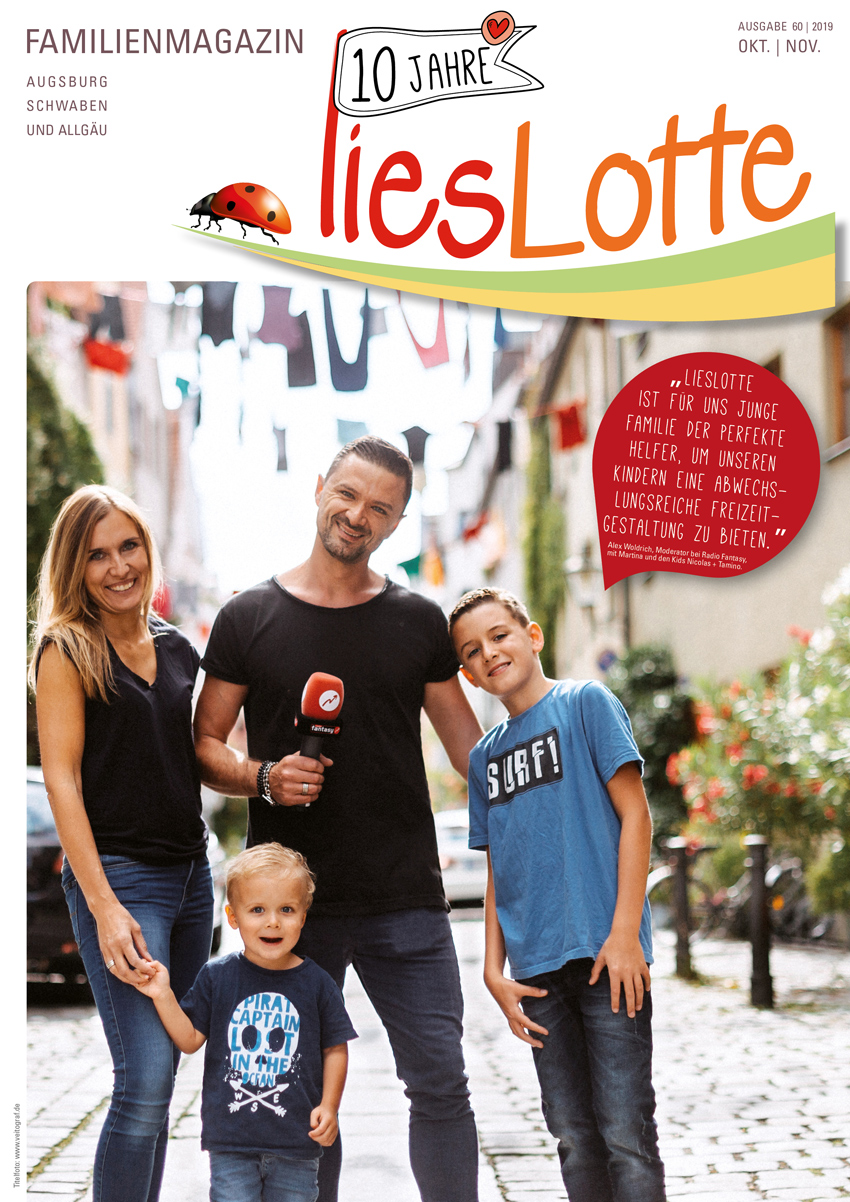 Titelbild liesLotte Ausgabe 60 - Oktober/November 2019
