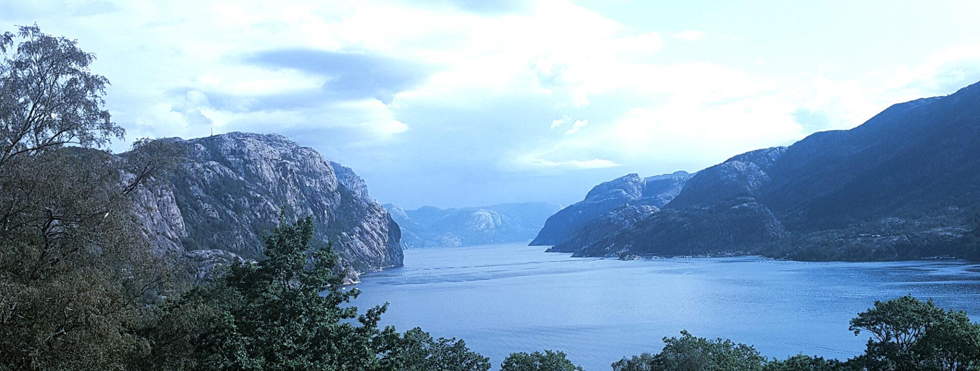 Norwegen preikestolen