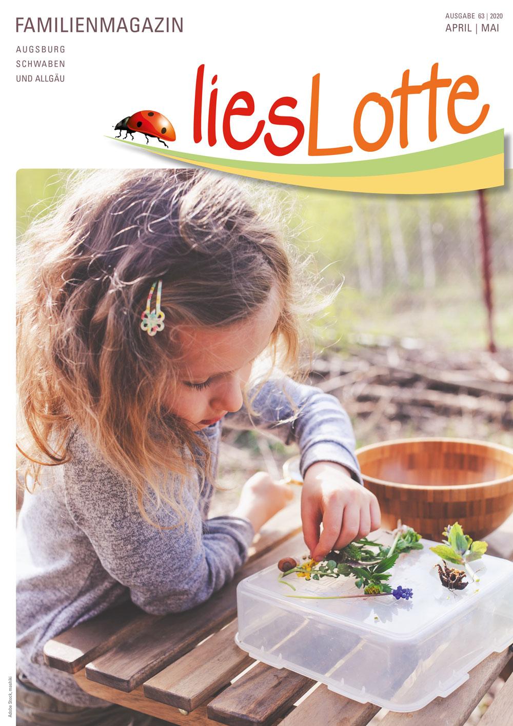 Titelbild liesLotte Ausgabe 63 - April / Mai 2020