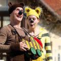 Ein Tiger, ein lachender Bär und eine Tigerente