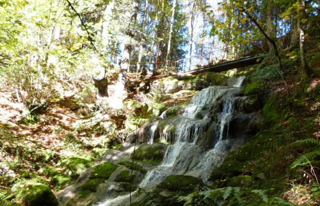 Wasserfall Wertach