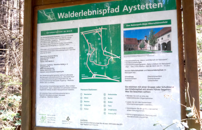 Walderlebnispfad Aystetten