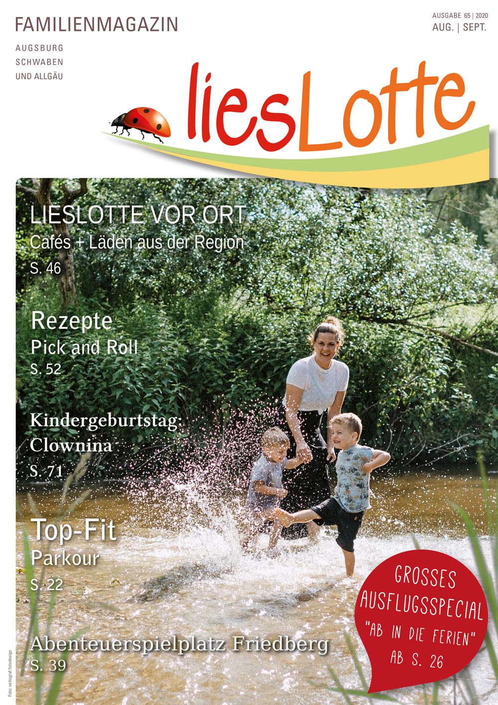 Titelbild liesLotte Ausgabe 64 - Juni/Juli 2020