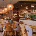 Inneneinrichtung vom Caféladen Seelenzeit