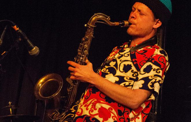 Saxophon-Musiker