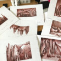Konzeptbilder für ein Bühnenbild von Tintenherz
