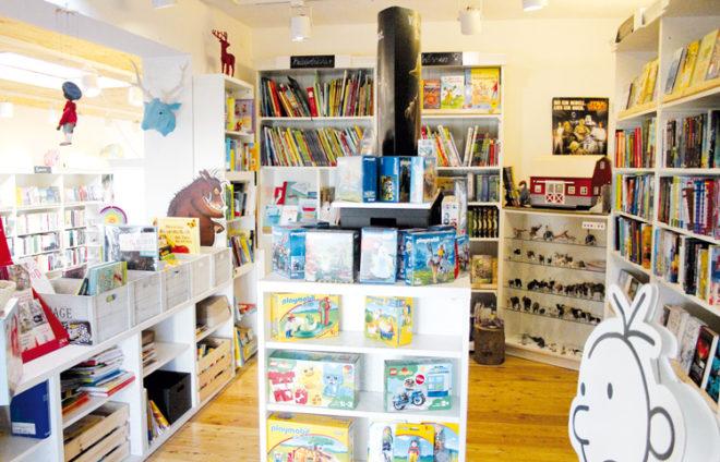 Innenansicht vom Laden Buch in Stadtbergen