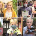 GewinnerInnen vom Augsburger Kinderfotopreis 2020