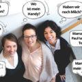 Die drei Gründerinnen von Socialitas