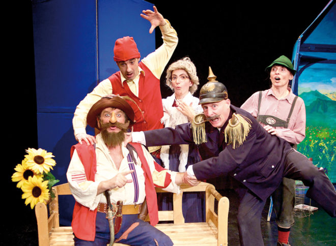 Theater Fritz und Freunde als Hotzenplotz & Co.