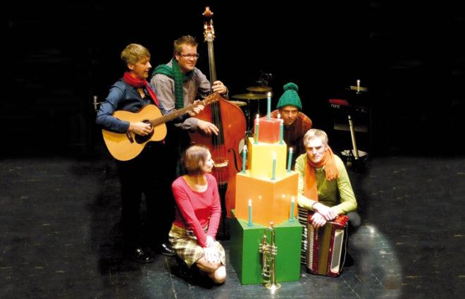 Mitglieder eines Augsburger Kindertheaters