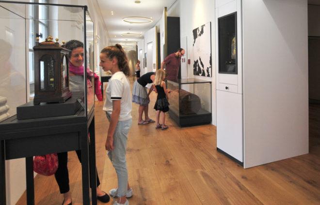 Innenraum-Foto aus dem Friedberger Museum