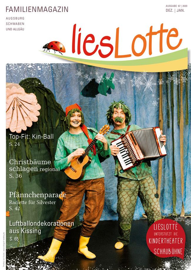Titelbild liesLotte Ausgabe 67 - Dez./Jan. 2020/21