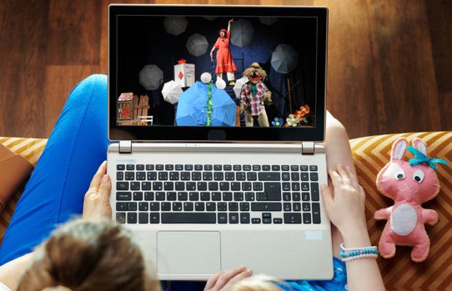 Ausschnitt vom EUKITEA-Theaterstück Jack und die Zauberbohnen