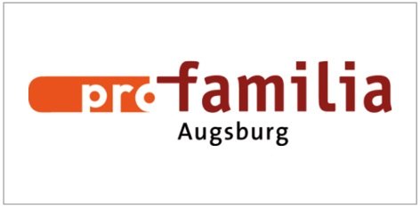 """Logo """"profamilia Augsburg"""""""