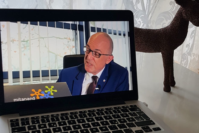 Videogrußbotschaft vom Landrat Dr. Klaus Metzger