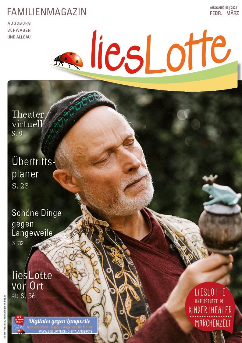 Titelbild liesLotte Ausgabe 68 - Febr./März 2021