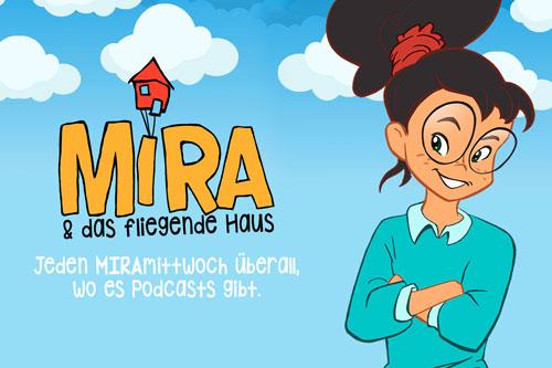 Illustration von Mira & das fliegende Haus