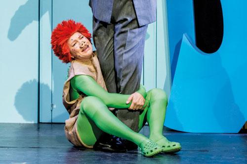 Das Sams aus einem Bonner Kindertheater