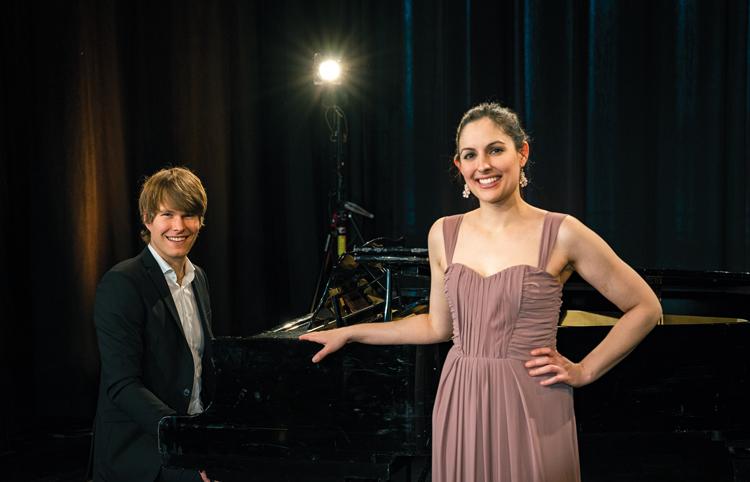 Anna Gottmann und Andreas Begert
