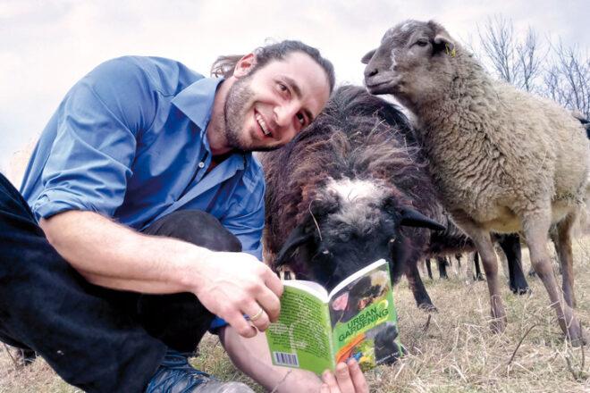 Benjamin Vogt mit tierischen Protagonisten