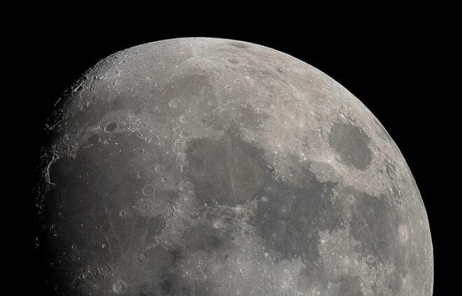 Foto vom Mond