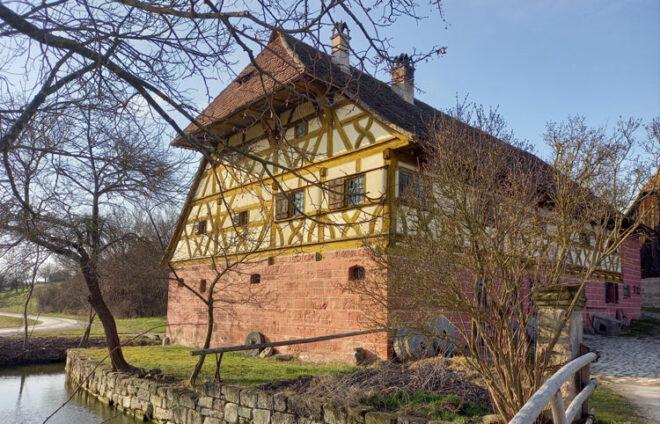 FFM-Mühle aus Unterschlauersbach