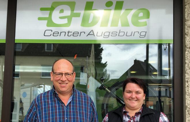 Die Inhaber vom e-bike Augsburg
