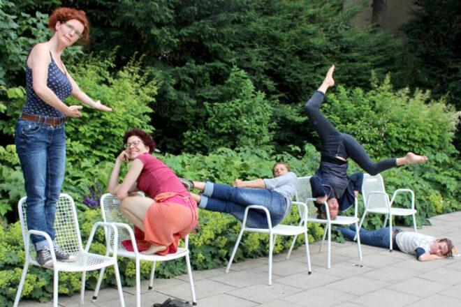 Einige Tanzpädagoginnen von TanzAllee