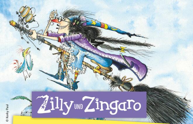 Illustration Lilly und Zingaro
