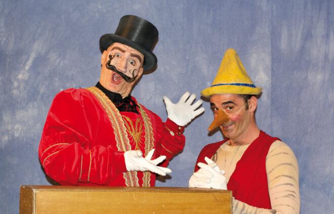 Theater Fritz und Freunde als Pinocchio & Co.