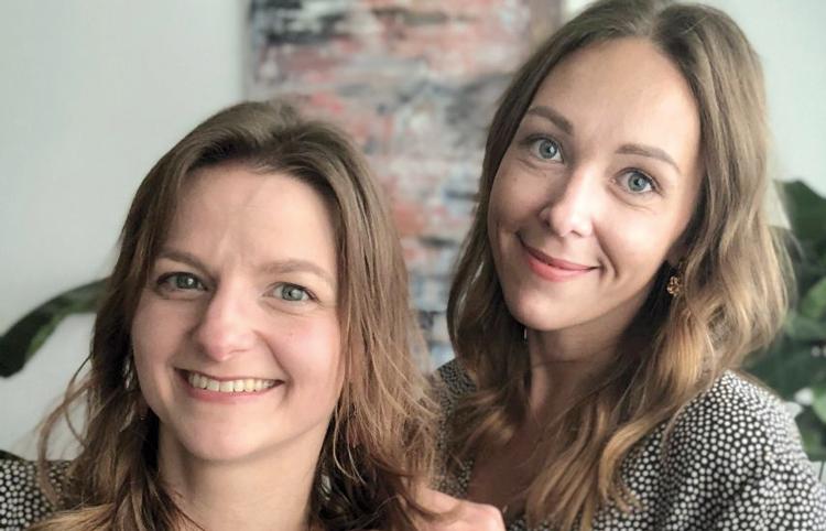 Sabine Schischka und Kristina Voss von Charm Catch
