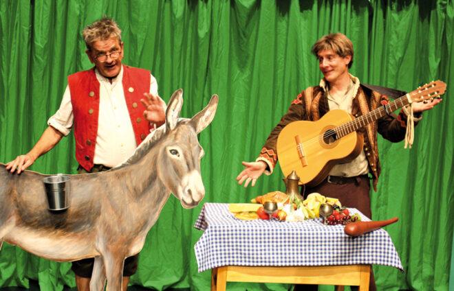 """Theater Fritz und Freunde im Märchen """"Tischlein deck dich"""""""