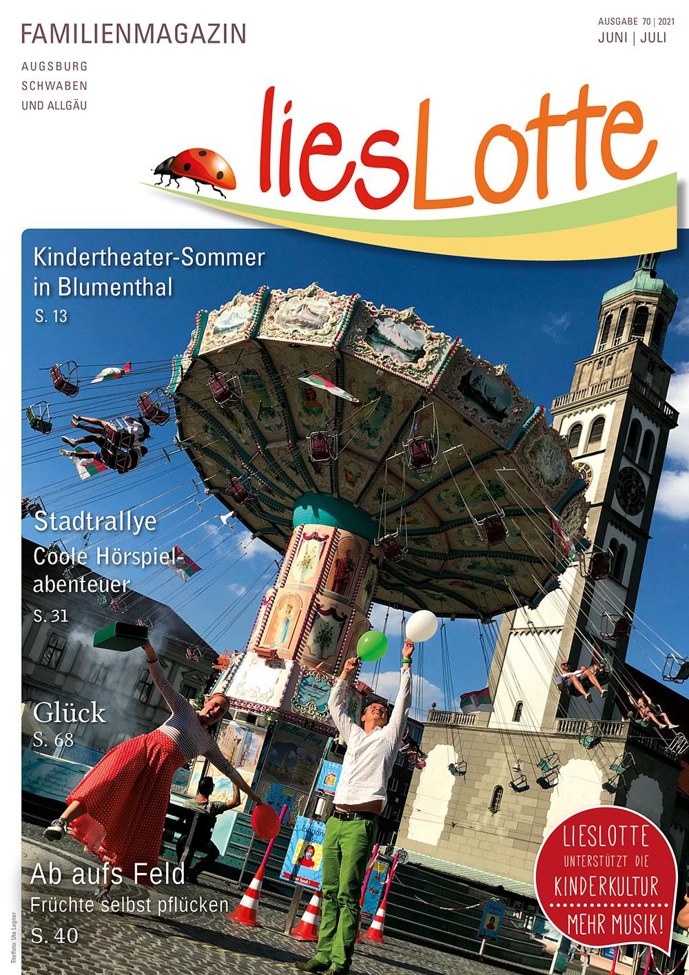 Titelbild liesLotte Ausgabe 70 - Juni/Juli 2021