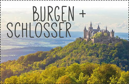 Burgen, Burgruinen, Schlösser in unserer Region