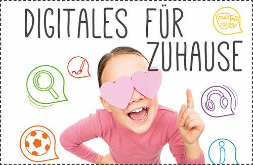 Digitalangebote für Kinder