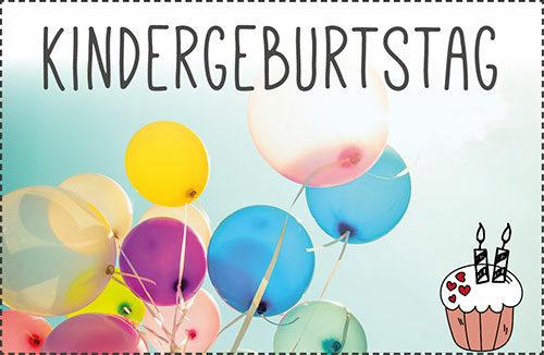 Kindergeburtstag feiern: 50 Tipps + Adressen