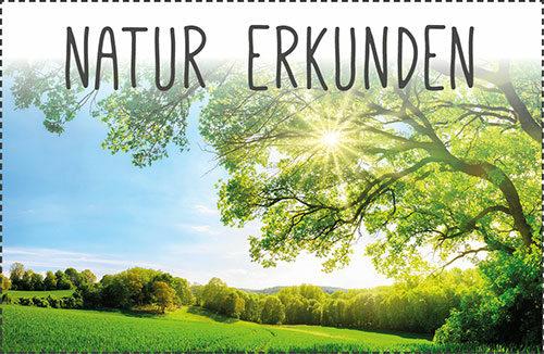 Berge + Thäler, Naturlandschaften, Kulturlandschaften