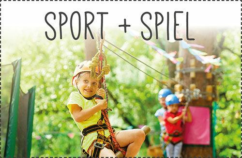 Kletterparks, Soccercenter, Minigolf, Winterspaß u.v.m.