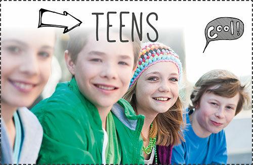 Jugendtreffs, Freizeiten, Beratung für Teens