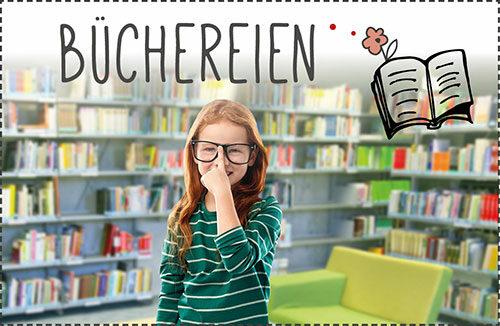Büchereien in Augsburg Stadt & Land