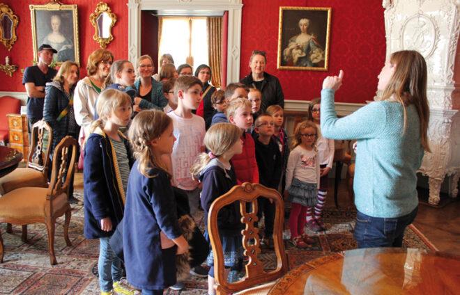 Kinderführung im Residenzschloss Oettingen