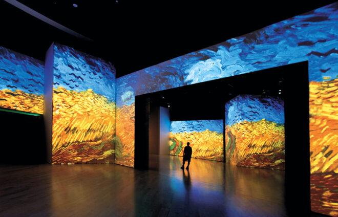 Van Gogh Alive in Singapur