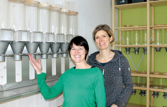 Sarah und Verena von Ich BINs Regional und unverpackt